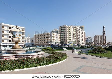 Square In The City Of Sharjah