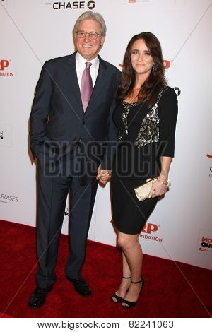 LOS ANGELES - FEB 2:  Bruce Boxleitner, Verena King at the AARP 14th Annual Movies For Grownups Awards Gala at a Beverly Wilshire Hotel on February 2, 2015 in Beverly Hills, CA