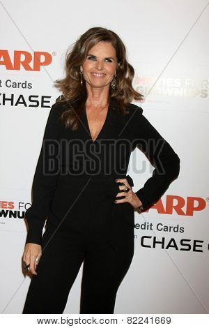 LOS ANGELES - FEB 2:  Maria Shriver at the AARP 14th Annual Movies For Grownups Awards Gala at a Beverly Wilshire Hotel on February 2, 2015 in Beverly Hills, CA