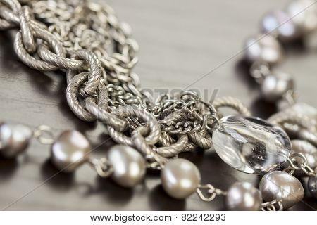 Assorted Silver CostumeJewelry
