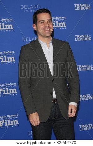 SANTA BARBARA - FEB 1:  Dave Karger at the Santa Barbara International Film Festival - Virtuosos Award at a Arlington Theater on February 1, 2015 in Santa Barbara, CA
