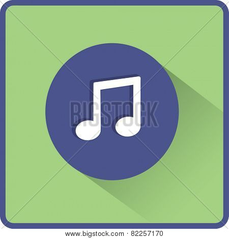 Stock Vector Illustration:  Flat Vector Note icon