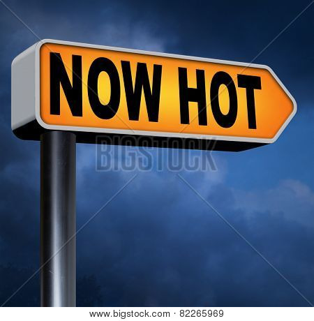 poster of now new and hot item product trend or price latest breaking news and trending