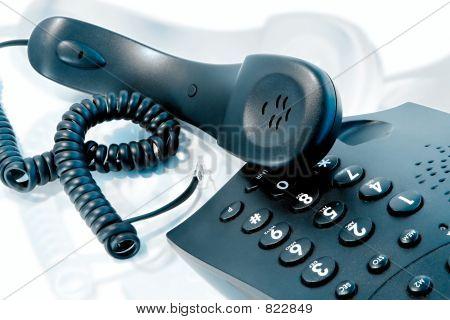 nervös Telefonanruf