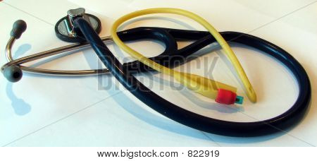Stethoscope and Urinary probe