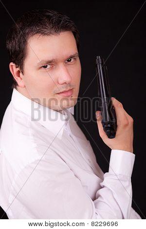 Man And Gun