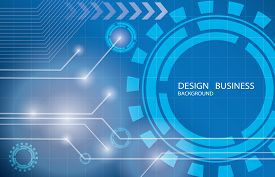 Abstract technology background design.