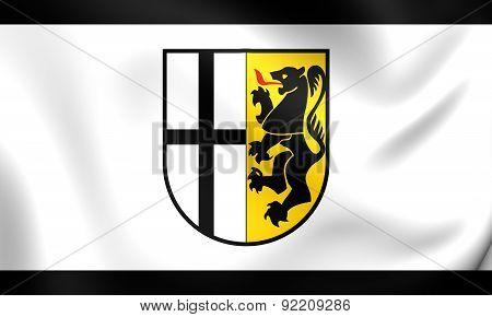 Flag Of Rhein-kreis Neuss, Germany.