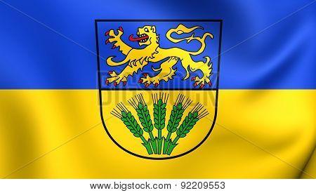 Flag Of Wolfenbuttel, Germany.