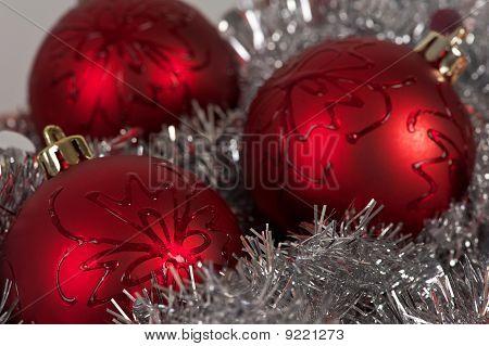 Three Balls And Tinsel