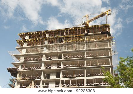 Construction Of The High-rise Building