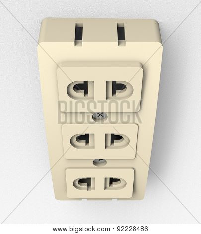 Power Socket On Wall