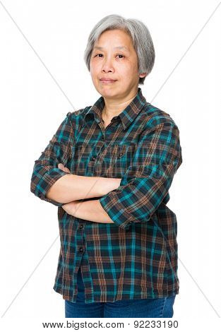 Asian mature woman