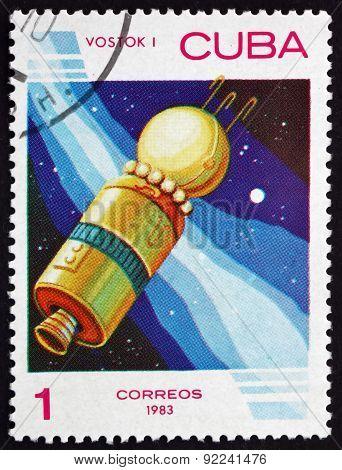 Postage Stamp Cuba 1983 Vostok 1