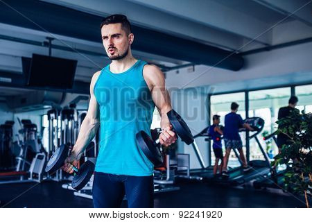 Fitness instructor at the gym  - Control your mind, conquer your body!