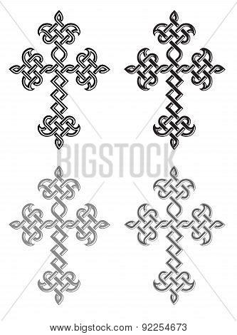 Traditional Armenian Apostolic Church Plaited Crosses