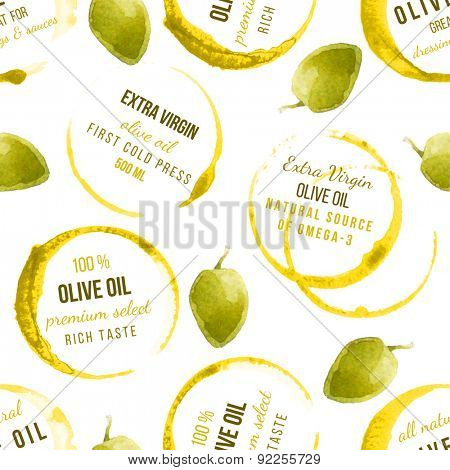 oil stains seamless pattern with type designs
