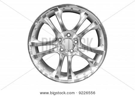 car wheel isolated