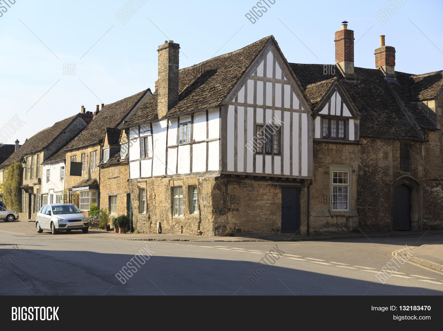 Old Houses Pretty Image & Photo (Free Trial) | Bigstock