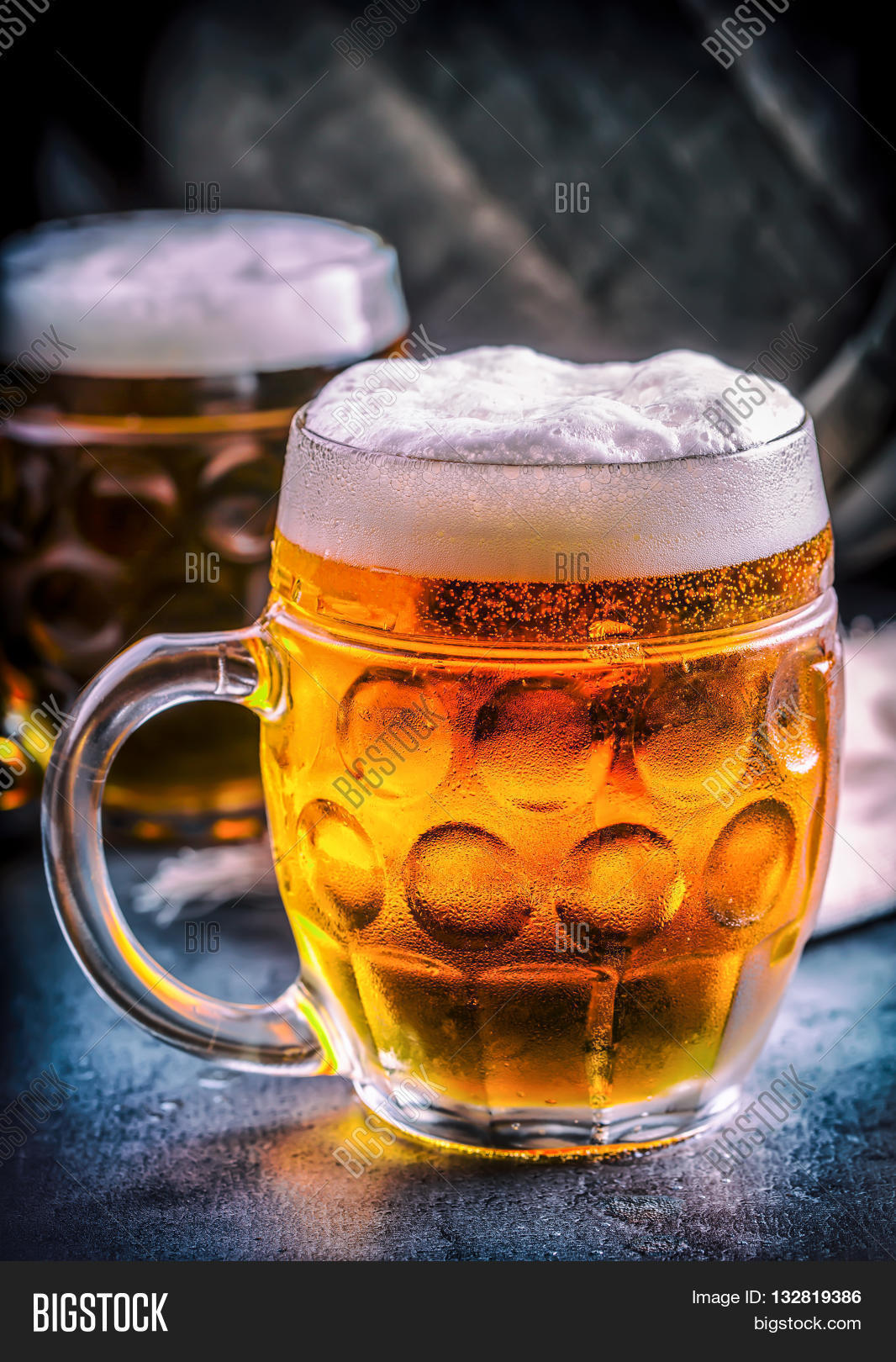 Beer. Two Cold Beers. Image & Photo (Free Trial) | Bigstock