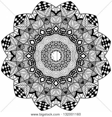 Mandala Floral Element