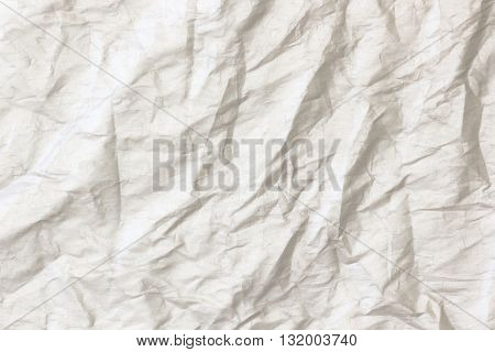 Abstract art Gray creased paper background texture.