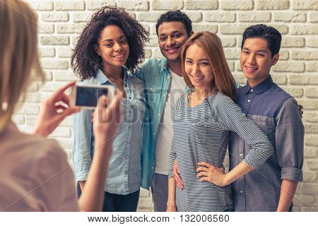 Young People With Gadget