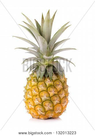 Pineapple fruits, Pineapple isolated on white background.