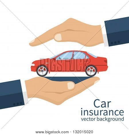 Insurance Car Vector