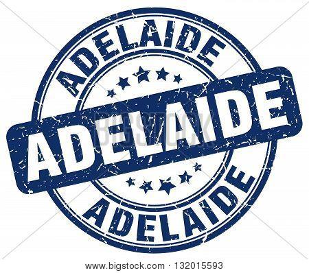 Adelaide blue grunge round vintage rubber stamp.Adelaide stamp.Adelaide round stamp.Adelaide grunge stamp.Adelaide.Adelaide vintage stamp.