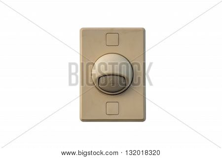 Doorbell over isolated white background (Home related)