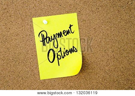 Business Acronym Po As Payment Options
