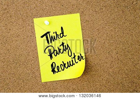 Business Acronym Tpr As Third Party Recruiter