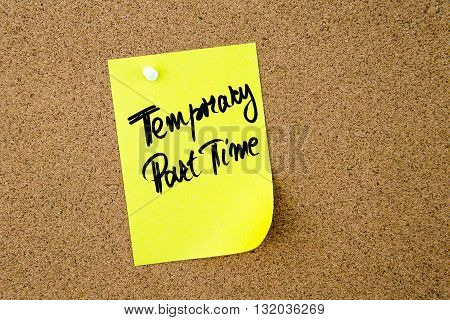 Business Acronym Tpt As Temporary Part Time