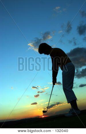 Lady Golfer