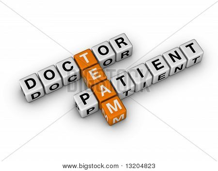 Doctor And Patient Team