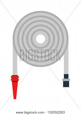 Firehose vector illustration.
