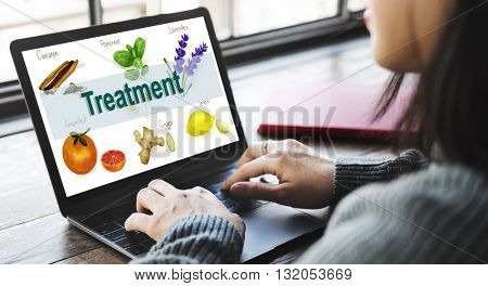 Health Care Treatment Vitamins Health Concept