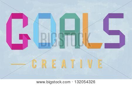 Goals Aim Motivate Target Vision Inspiration Concept