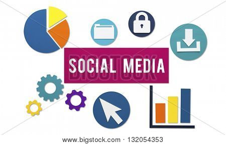 Social Media Connection Networking Online Concept