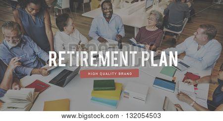 Retirement Earning Savings Senior Wealth Concept