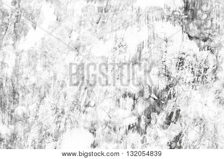 Black and white grunge concrete wall background