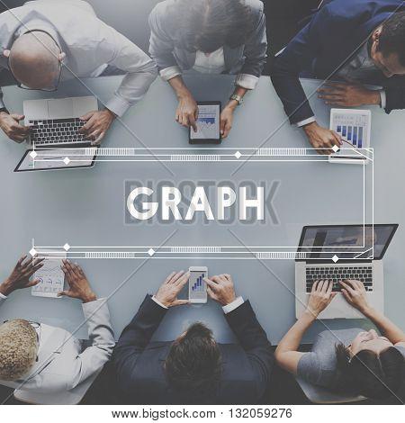 Document Graph Goals Growth Ideas Concept