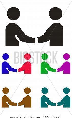 Handshake Icon handshake people two people business