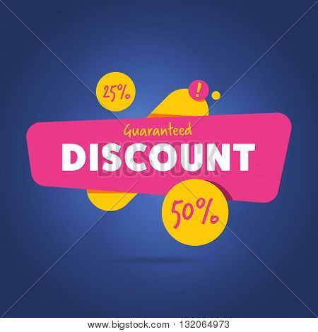 Discount sticker. Offer sticker. Discount label. Special discount vector label. Sale sign. Discount element template. Special offer sticker. Promo sticker. Discount icon. Discount vector banner. Ad offer. Design of ad offer. Discount tag. Dicount offer.