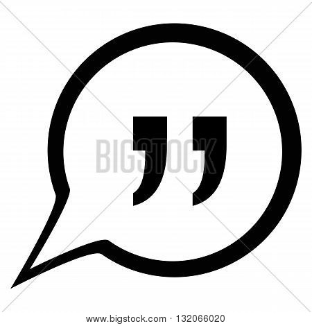Quote icon vector stock market data quote
