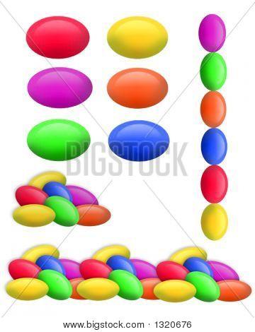 Jelly Beans Clip Art