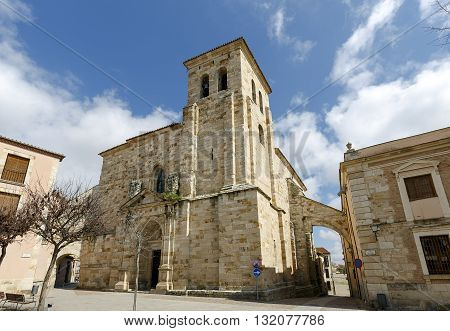 Church of San Pedro and San Ildefonso in Plaza de Fray Diego de Deza Zamora Spain
