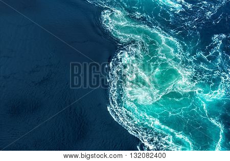 Aerial view of tropical beach travel or summer concept