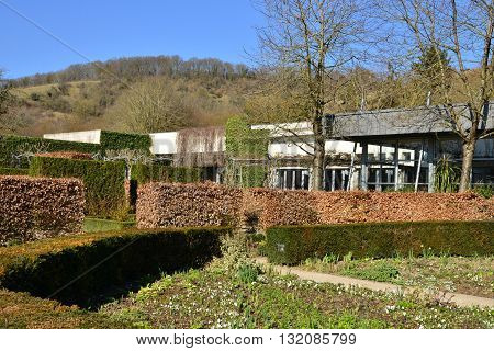 Giverny France - february 29 2016 : the impressionisms museum